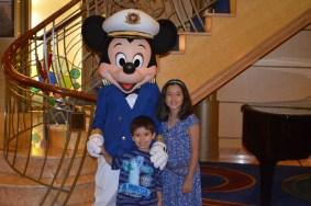 Mickey de capitão