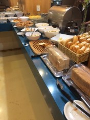 Café da manhã do Comfort Suites