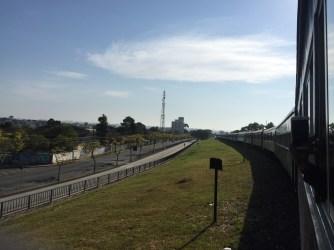 Curitiba do trem