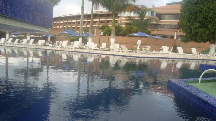 Área da piscina