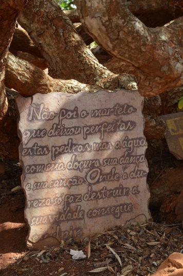 Mensagem para os visitantes