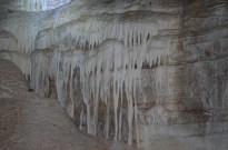 Formações da gruta