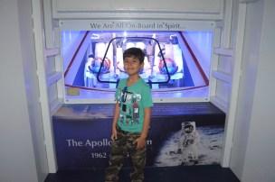 Cabine dos astronautas