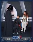 Darth Vader convoca as crianças para o dark side