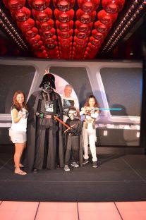 Brincadeira com Darth Vader