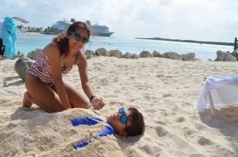 Enterrado em grande estilo nas Bahamas