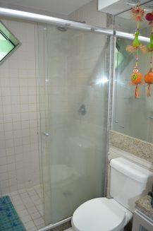 Banheiro do flat