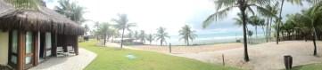 A vista do nosso bangalô