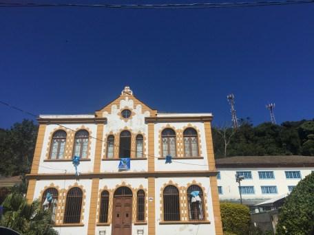Casa enfeitada em homenagem à Nossa Senhora da Graça