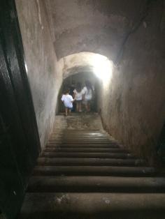 Acesso aos túneis