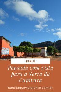 Pousada com vista para a Serra da Capivara