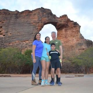 Trilhas no Parque Nacional Serra da Capivara com crianças