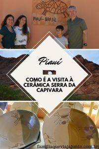 Como é a visita à Cerâmica Serra da Capivara, no Piauí