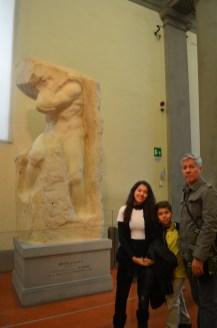 O Atlas, de Michelangelo