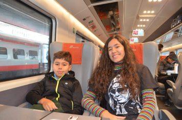 De trem pelo Norte da Itália