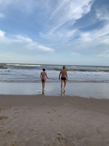 Em busca de praia e sossego