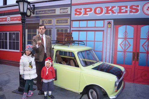 Mr. Bean no Universal Hollywood