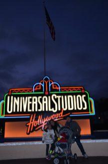 Universal Studios Hollywood com crianças
