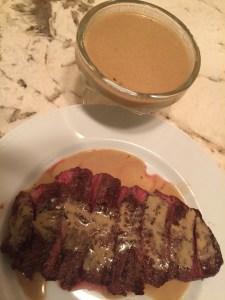 Top Blade Steak with Madeira Sauce