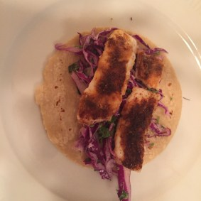 Blackened Cod Taco