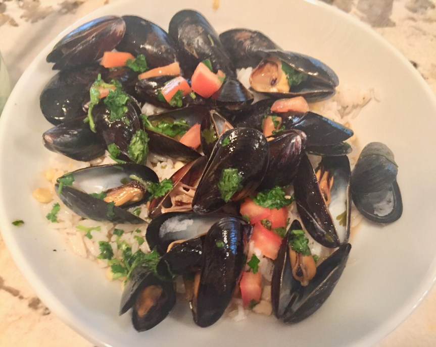Mussels in Thai Style Broth