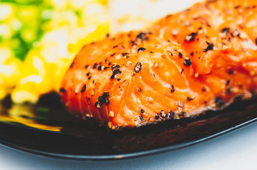 Firecracker Ovenbaked Salmon