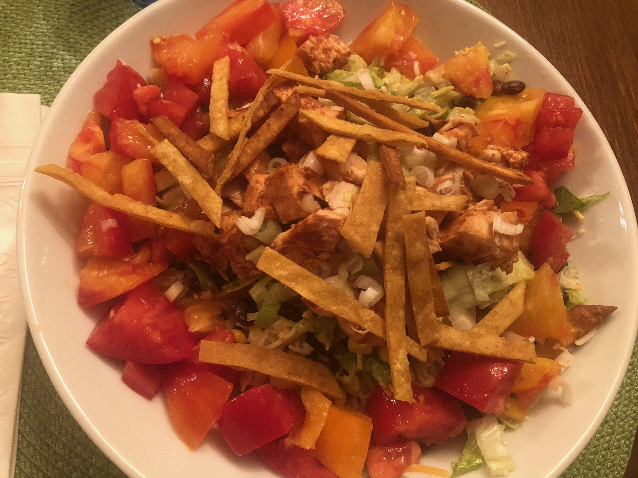 Smoked Chicken Salad with Heirloom Tomatoes