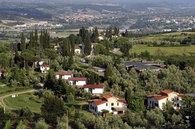 Aerial view of Loppiano