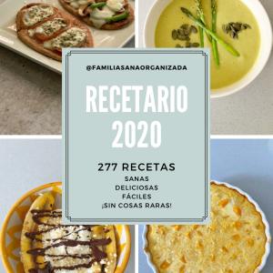 Portada EBOOK Recetario 2020
