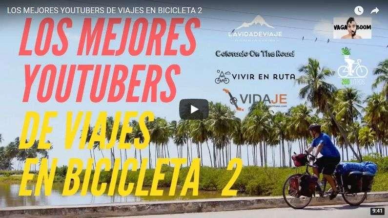 youtubers de viajes en bicicleta