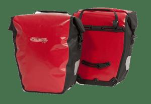paire de sacoches velo ortlieb back roller city pour porte bagages »
