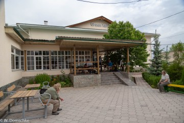 Das Hotel Green Yard in Karakol