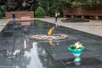 Ewige Flamme im Panfilow Park