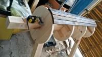 Grundkonstruktion Holzpferd