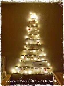 Weihnachtsbaum mit LED Beleuchtung