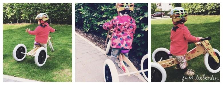 Laufrad Wishbone, Kleinkind, Lauflernrad, Trike, Bike, Holzrad