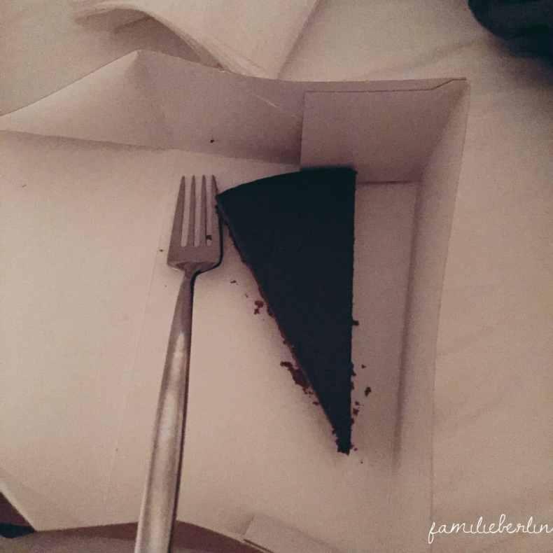 Kuchen, Schokolade, Bett
