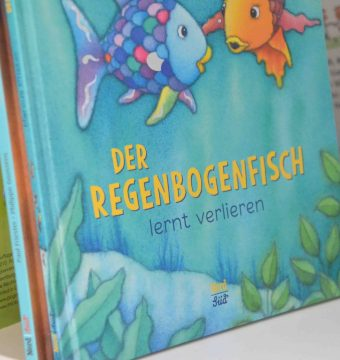 25 Jahre Regenbogenfisch, Nord Süd Verlag, Kinderbuch, Geschichte, Marcus Pfister, Jubiläum, Vorlesen, Fantasie, Freundschaft