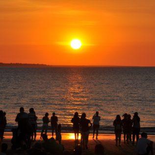 (C) Juke Reiselust: Sunset Mindil Beach