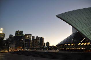 (C) Jule Reiselust: Nacht über CBD Sydney