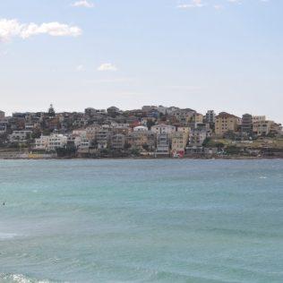 (C) Jule Reiselust: Blick auf North Bondi - erinnertnirgendwie an die Amalfi Küste