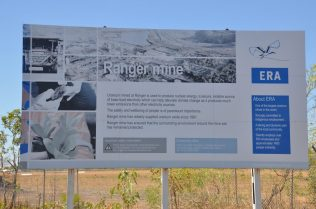 (C) Jule Reiselust: Eingang zur Ranger Uran Mine.