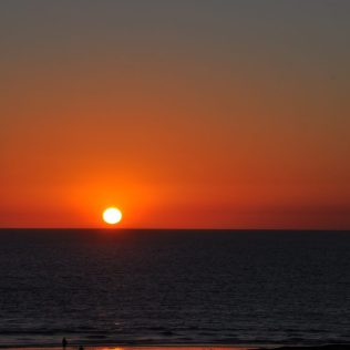 (C) Jule Reiselust: Sonnenuntergang am Cable Beach/Broome.