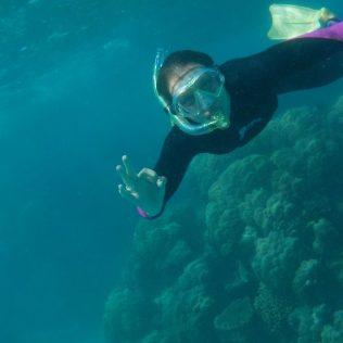 (C) Jule Reiselust: Jule vor dem Ningaloo Reef - Wettbewerbsfoto Nummer 4.
