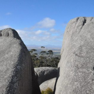 (C) Jule Reiselust: Castle Rock im Porongurup Nationalpark.