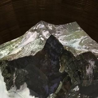 (C) Jule Reiselust: Das Matterhorn aus der Vogelperspektive gesehen.