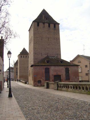 (C) Jule Reiselust: Die ehemals gedeckten Brücken von Straßburg.