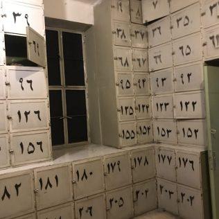 (C) Jule Reiselust: Spinte für die persönlichen Sachen der Inhaftierten.