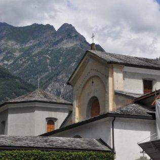 (C) Jule Reiselust: Kloster von San Lorenzo in Chiavenna.