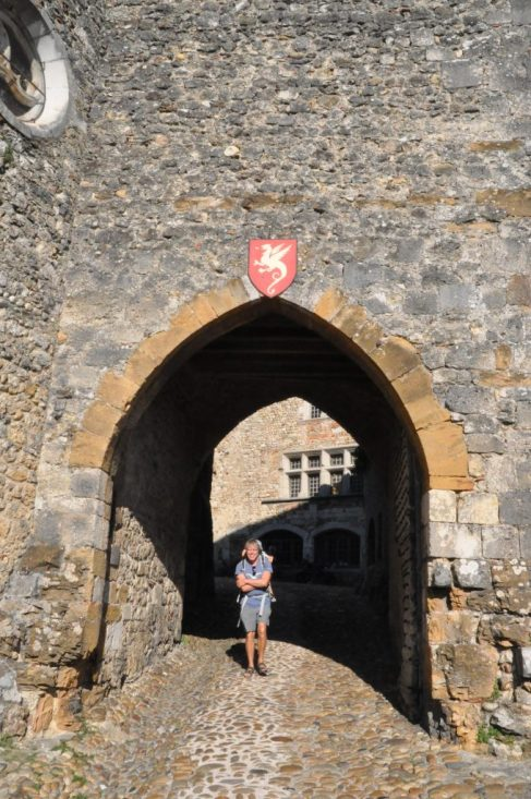 (C) Jule Reiselust: Eingang in die mittelalterliche Stadt.